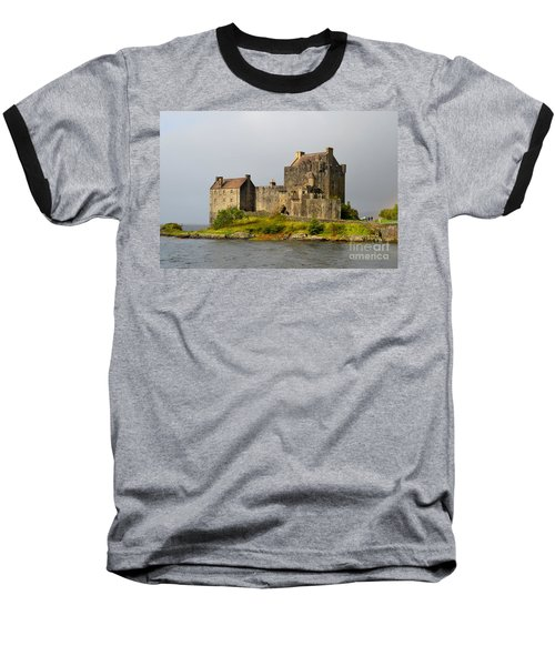 Eilean Donan Castle In Scotland Baseball T-Shirt