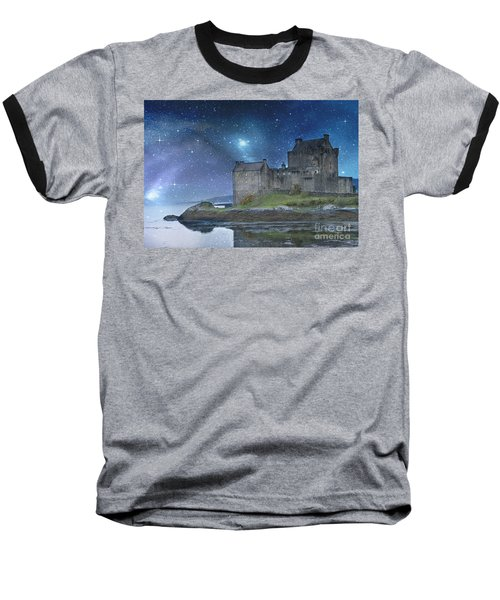 Eilean Donan Castle Baseball T-Shirt by Juli Scalzi