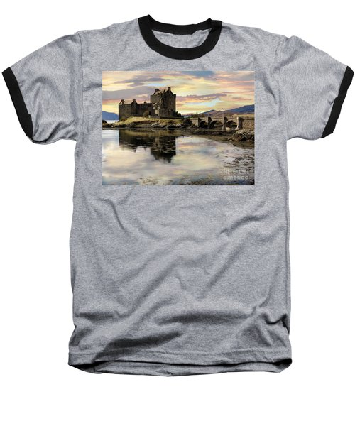 Eilean Donan Castle Scotland Baseball T-Shirt
