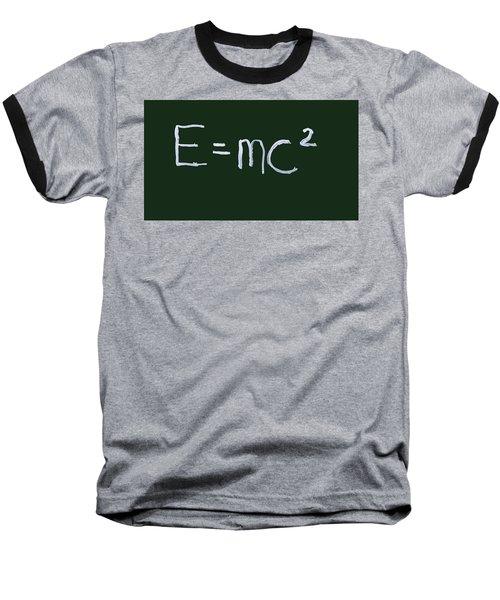 Einstein Formula Baseball T-Shirt