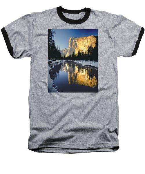 2m6542-el Cap Reflect Baseball T-Shirt