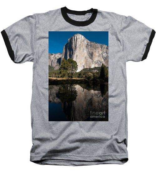 El Capitan In Yosemite 2 Baseball T-Shirt