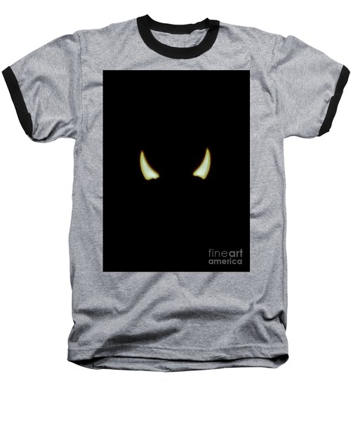 Baseball T-Shirt featuring the photograph El Diablo by Angela J Wright