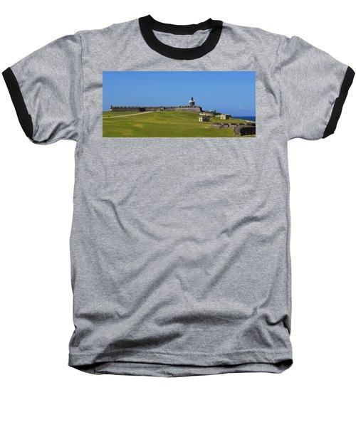 El Morro Panorama Baseball T-Shirt