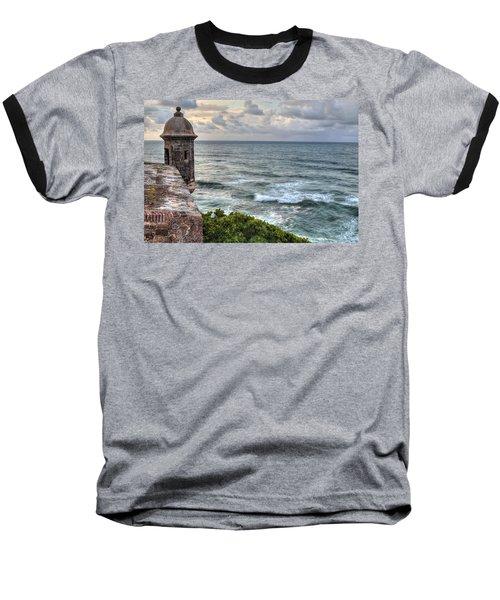 El Morro Sunset Baseball T-Shirt