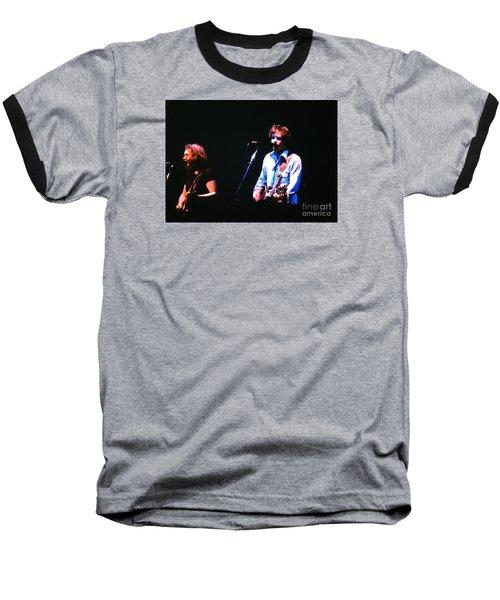 The Grateful Dead 1980 Capitol Theatre Baseball T-Shirt by Susan Carella