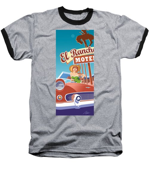 El Rancho Baseball T-Shirt