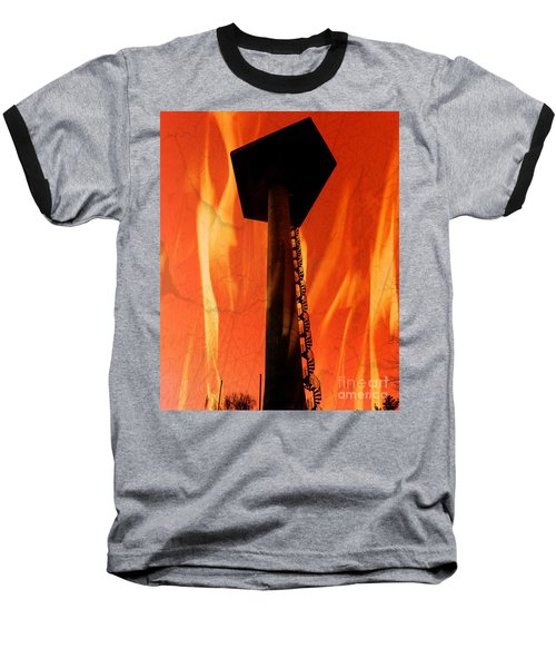 Baseball T-Shirt featuring the photograph Elastic Concrete Part Two by Sir Josef - Social Critic - ART