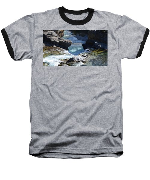 Elbow Falls Baseball T-Shirt by Cheryl Miller