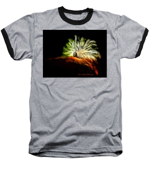 Electric Caterpillar Baseball T-Shirt