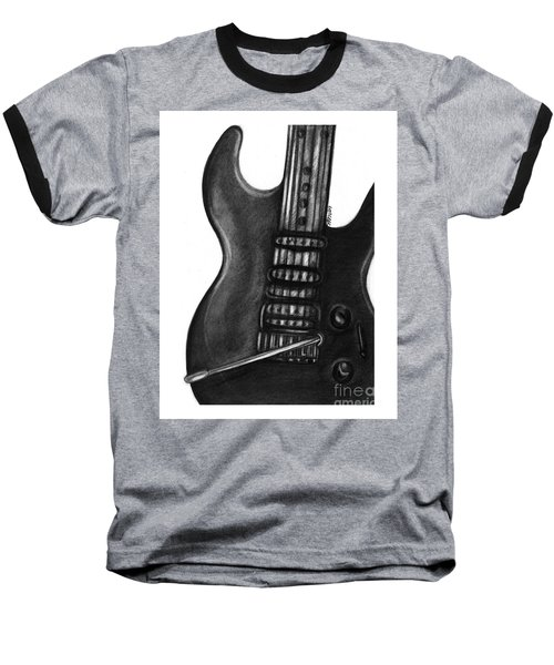 Electric Guitar Baseball T-Shirt
