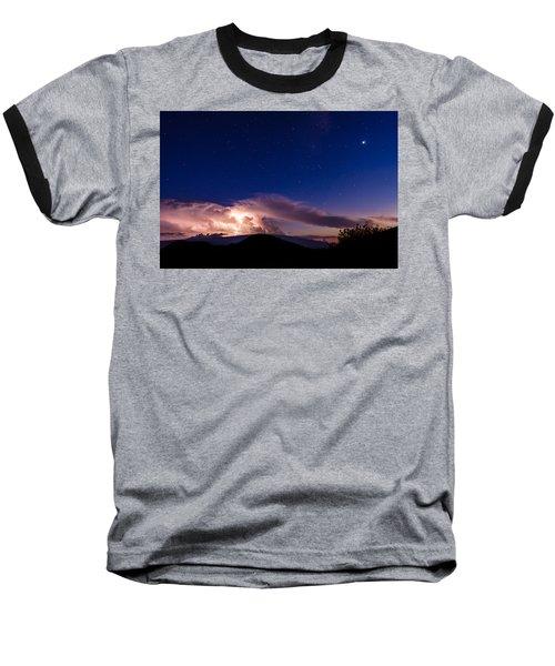 Electric Heavens 1 Baseball T-Shirt