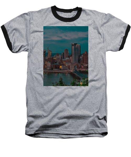 Electric Steel City Baseball T-Shirt