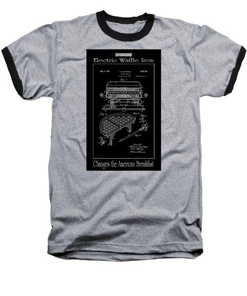 Electric Waffle Iron Baseball T-Shirt