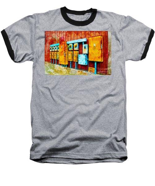 Electrical Boxes Iv Baseball T-Shirt