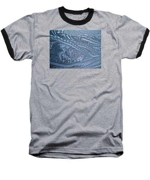 Elegant Blues Baseball T-Shirt by Joy Nichols