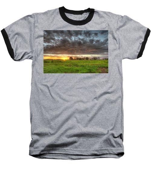 Elements Of A Waimea Sunset Baseball T-Shirt
