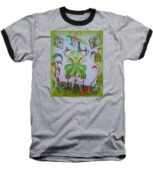 Eleonore Friend Princess Melisa Baseball T-Shirt by Marie Schwarzer