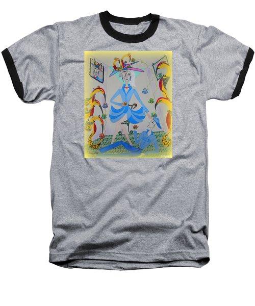 Eleonore Tea Party Baseball T-Shirt by Marie Schwarzer