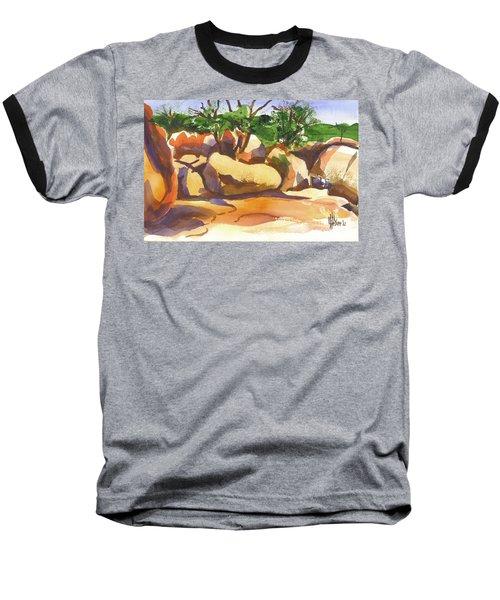 Elephant Rocks Revisited I Baseball T-Shirt