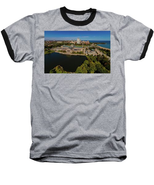 Elevated View Of The Museum Of Science Baseball T-Shirt