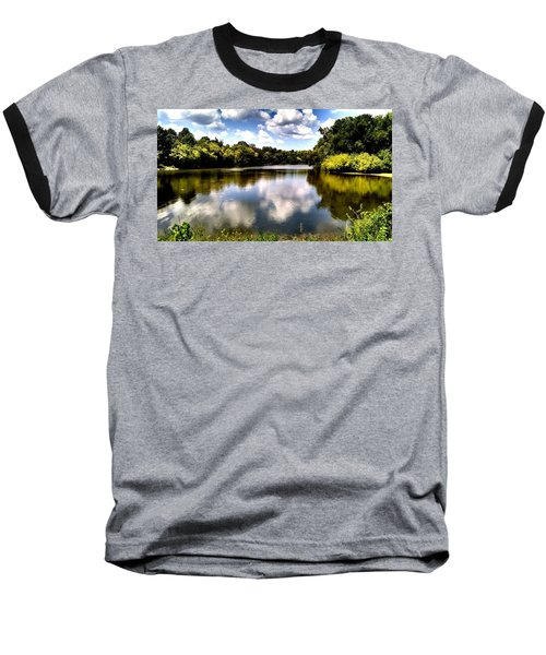 Baseball T-Shirt featuring the photograph Elk Creek Tennessee by Chris Tarpening