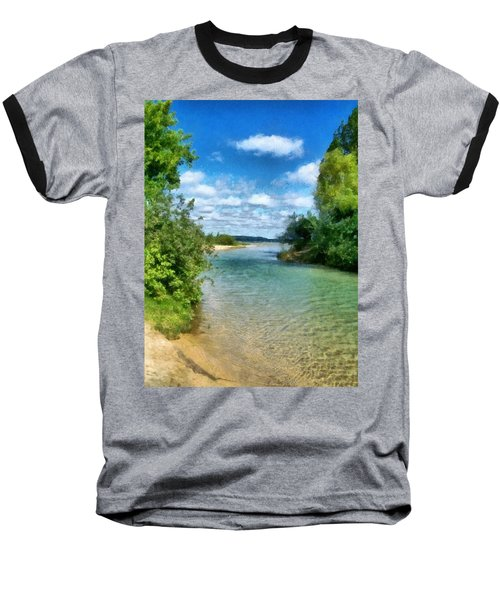Elk River- Elk Rapids Michigan Baseball T-Shirt
