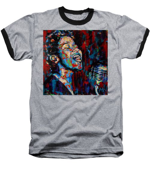 Ella Fitzgerald Baseball T-Shirt