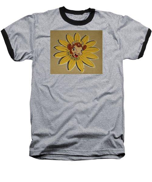 Elsie The Borden Cow  Baseball T-Shirt