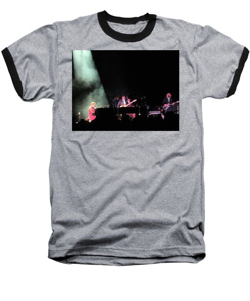 Elton And Band Baseball T-Shirt by Aaron Martens