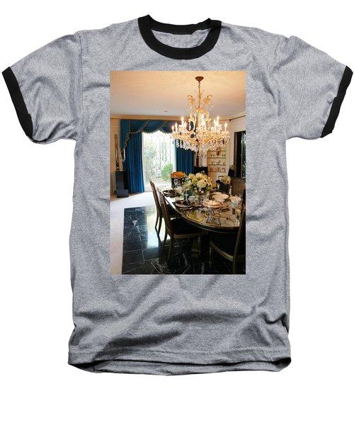 Elvis Presley's Dining Room Baseball T-Shirt