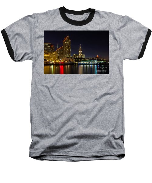 Embarcadero Blue Hour Baseball T-Shirt