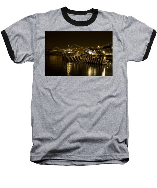 Embarcadero Boats Baseball T-Shirt