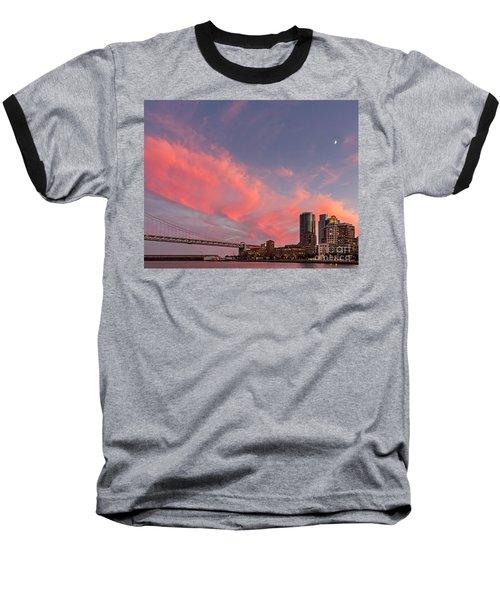 Embarcadero Sunset Baseball T-Shirt