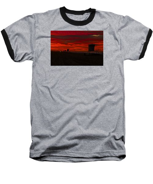 Baseball T-Shirt featuring the photograph Embers Of Dawn by Duncan Selby