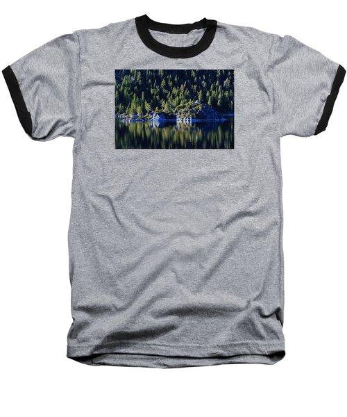 Baseball T-Shirt featuring the photograph Emerald Bay Teahouse by Sean Sarsfield