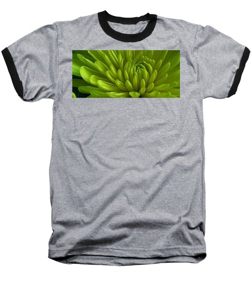 Emerald Dahlia Baseball T-Shirt