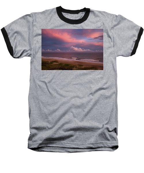 Emerald Isle Sunset Baseball T-Shirt