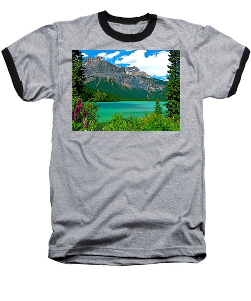 Emerald Lake In Yoho Np-bc Baseball T-Shirt