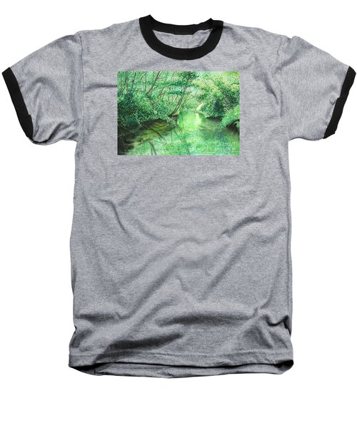 Emerald Stream Baseball T-Shirt