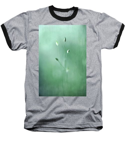 Baseball T-Shirt featuring the photograph Emerge by Annie Snel