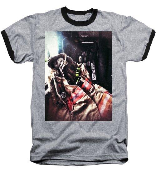 Emergency Standby Baseball T-Shirt