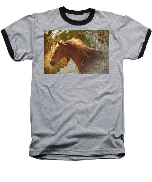 Emerging Free Baseball T-Shirt