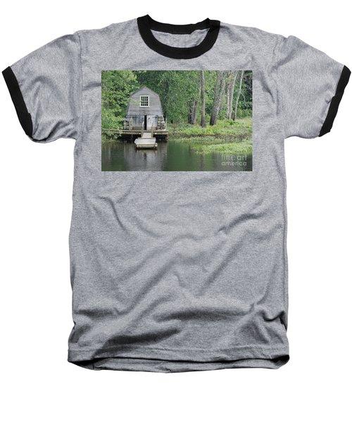 Emerson Boathouse Concord Massachusetts Baseball T-Shirt by Amy Porter