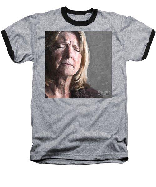 Empathy Baseball T-Shirt by Paul Davenport
