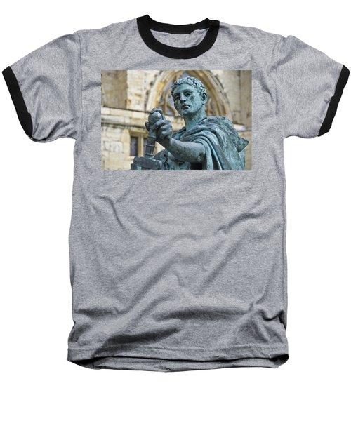 Emperor Constantine Baseball T-Shirt