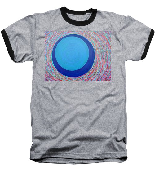 Baseball T-Shirt featuring the painting Empty Cup 2 by Kyung Hee Hogg
