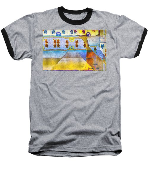 Empty Stage Baseball T-Shirt by RC deWinter