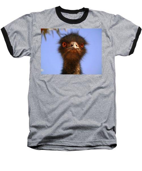 Emu Upfront Baseball T-Shirt by Evelyn Tambour