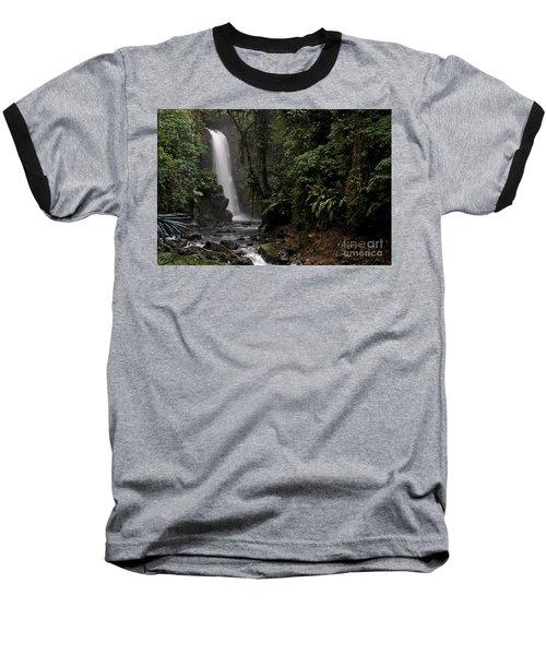 Baseball T-Shirt featuring the photograph Encantada Waterfall Costa Rica by Teresa Zieba